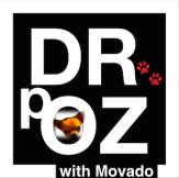 logo for DR.pOZ with Movado